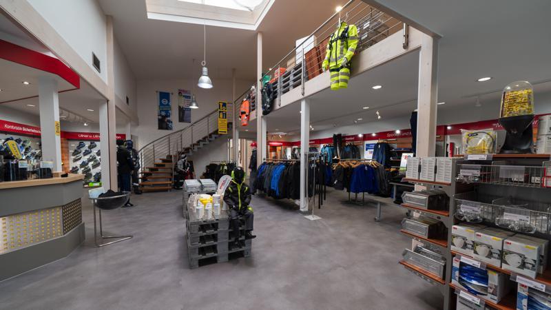 Arbeitsschutz-Ladengeschäft
