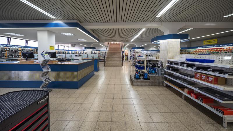 Ladengeschäft Werkzeuge und Maschinen