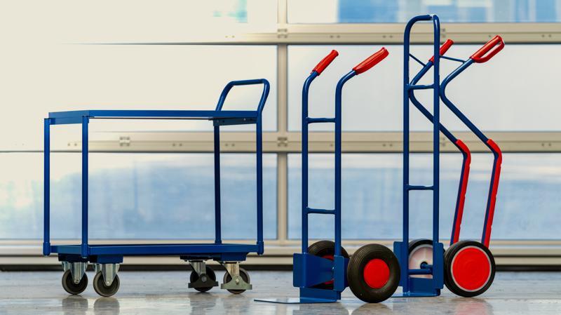Transportgeräte, Räder und Rollen
